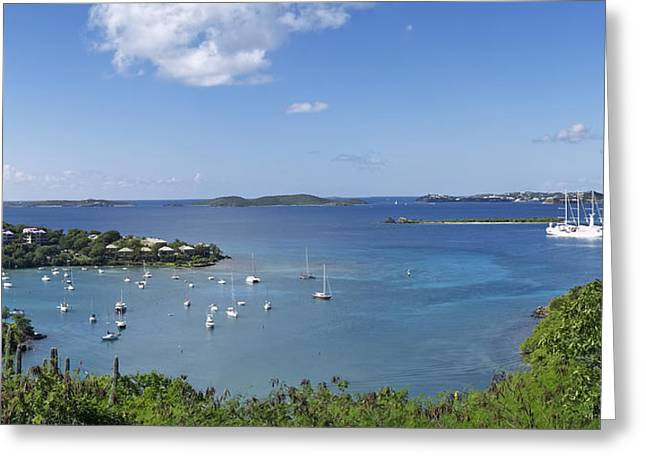 Cruz Bay Greeting Card
