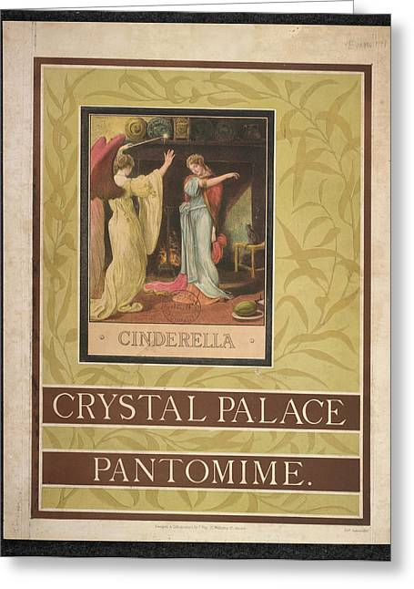 Crystal Palace Greeting Card by British Library