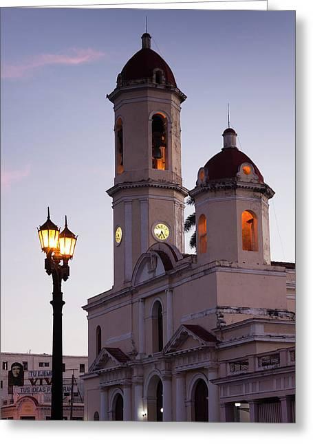 Cuba, Cienfuegos Province, Cienfuegos Greeting Card