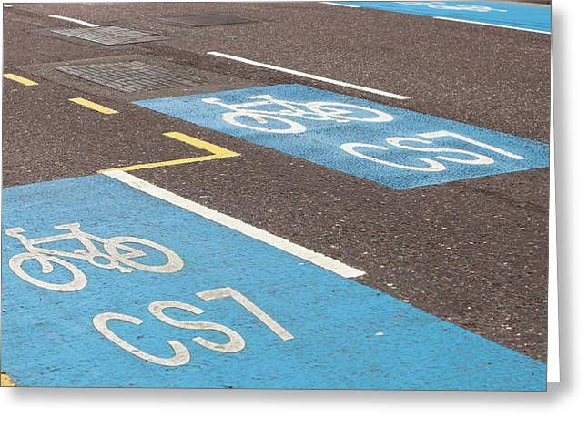 Cycle Superhighway Greeting Card
