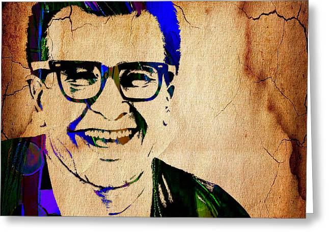 Dave Brubeck Collection Greeting Card by Marvin Blaine