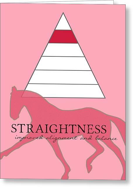 Define Straightness Greeting Card by JAMART Photography