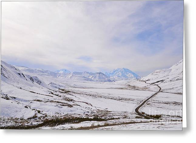 Greeting Card featuring the photograph Denali by Kate Avery
