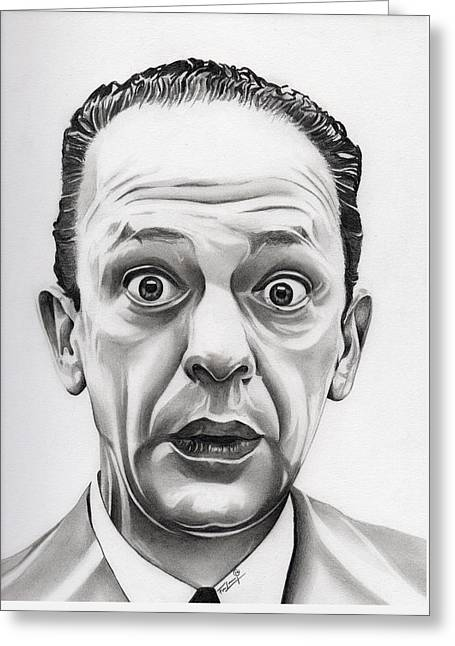 Deputy Barney Fife Greeting Card by Fred Larucci
