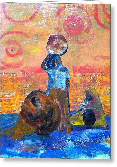 Desert Diva's 3 Greeting Card by MaryAnne Ardito