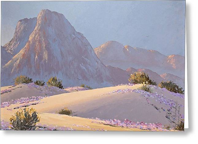 Desert Prelude Greeting Card