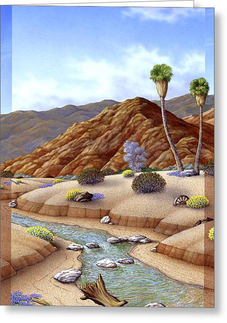 Desert Vista #2 Greeting Card by Snake Jagger