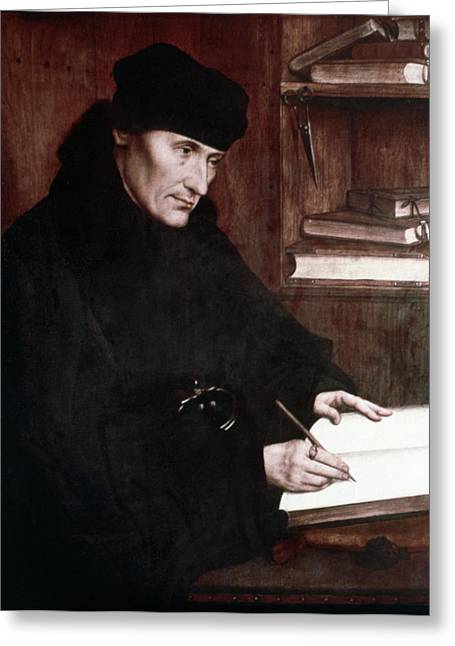 Desiderius Erasmus (1466?-1536) Greeting Card by Granger