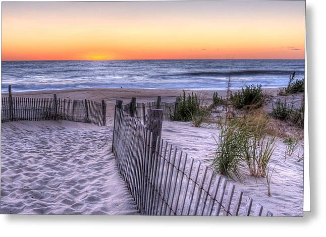 Dewey Beach Sunrise Greeting Card