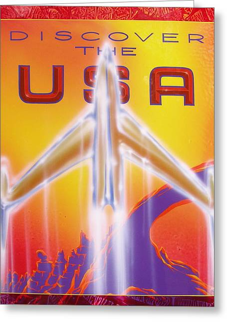 Discover The Usa Greeting Card