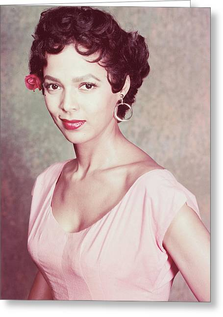 Dorothy Dandridge Greeting Card by Silver Screen