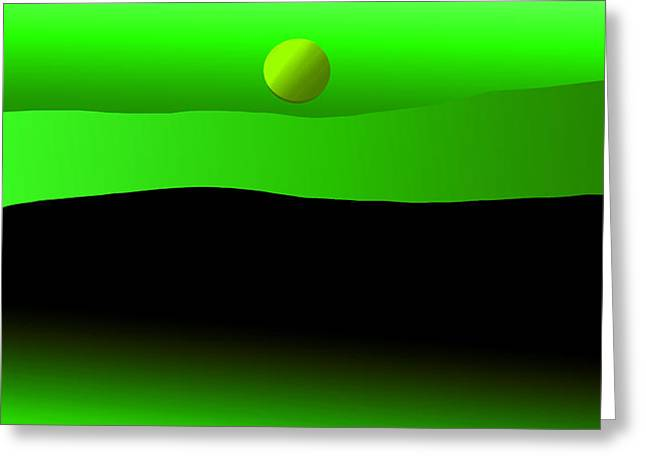 Dream Scapes Series Two Greeting Card by Sir Josef - Social Critic - ART