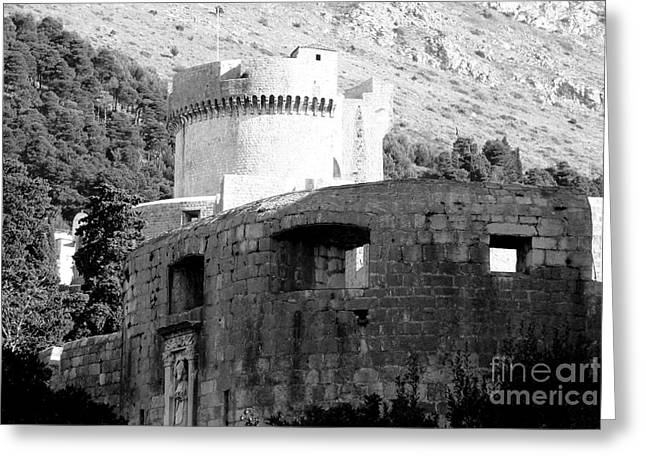 Dubrovnik Fort Minceta Greeting Card