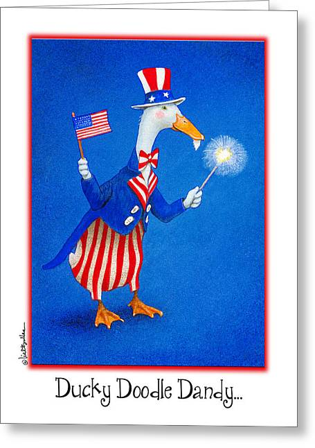 Ducky Doodle Dandy... Greeting Card