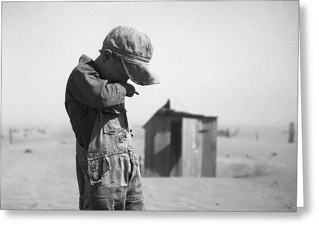 Dust Bowl, 1936 Greeting Card