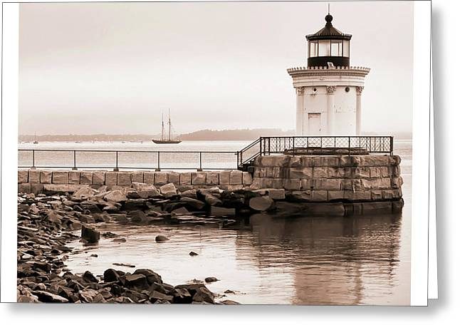 Greeting Card featuring the photograph Early Morning Bug Light by Richard Bean