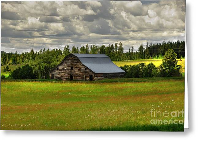 Eastside Road Barn Greeting Card