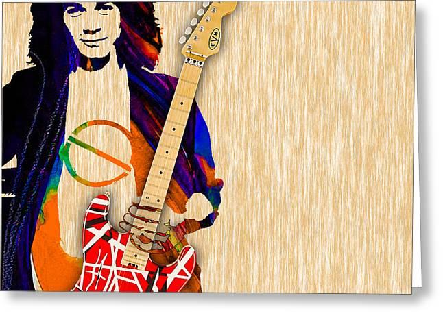 Eddie Van Halen Special Edition Greeting Card