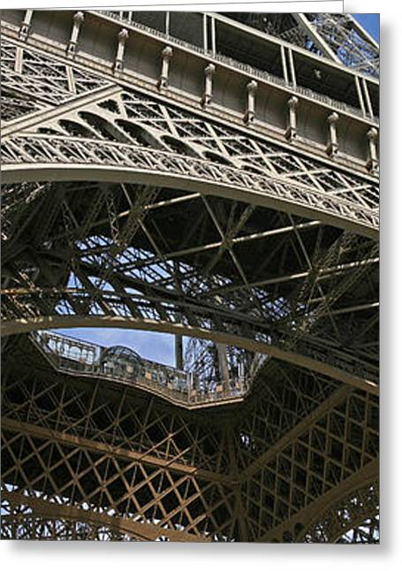 Eiffel Tower Greeting Card by Gary Lobdell
