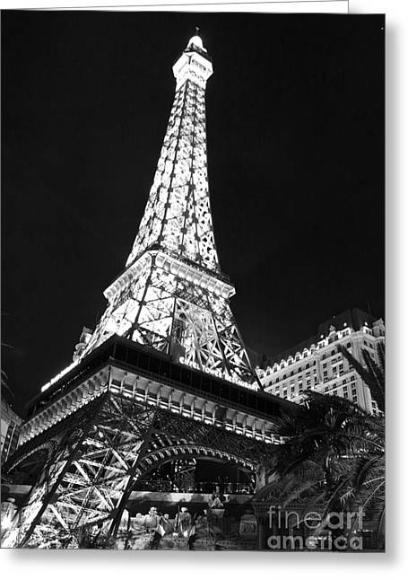 Eiffel Tower Greeting Card by Kevin Ashley