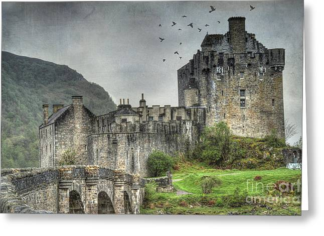 Eilean Donan Castle Greeting Card by Juli Scalzi