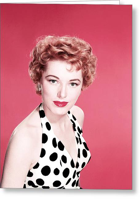 Eleanor Parker Greeting Card