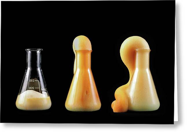 Elephant's Toothpaste Experiment Greeting Card