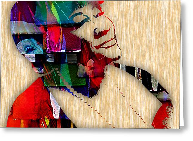 Ella Fitzgerald Collection Greeting Card by Marvin Blaine