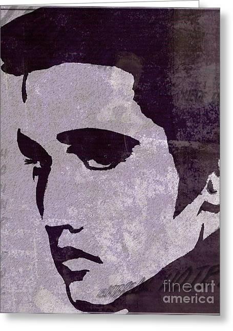 Elvis  Greeting Card by Jessie Art