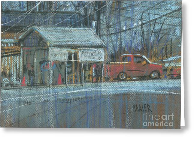 Emissions Testing Greeting Card by Donald Maier