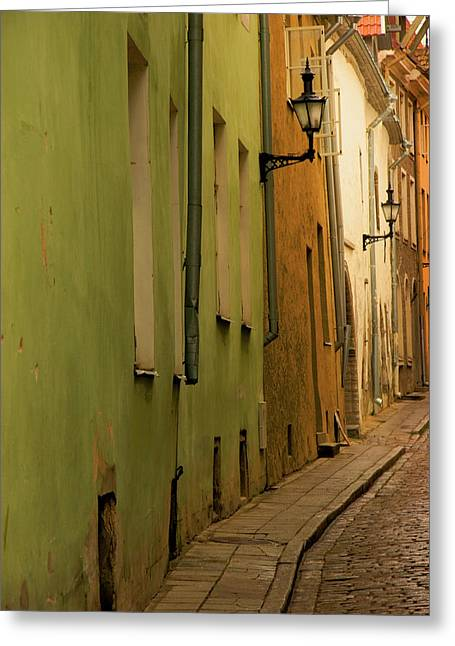 Estonia, Tallinn Greeting Card by Jaynes Gallery