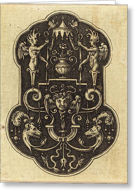 Etienne Delaune, French 1518-1519-1583 Greeting Card by Litz Collection