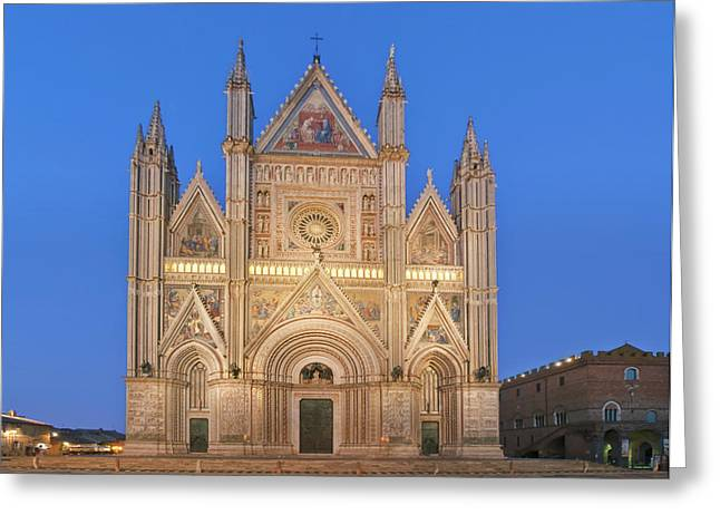 Europe, Italy, Umbria, Orvieto, Orvieto Greeting Card by Rob Tilley