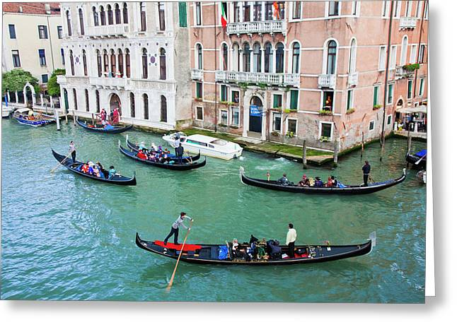 Europe, Italy, Venice Greeting Card by Terry Eggers