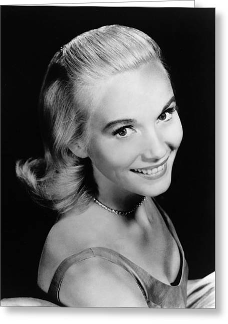 Eva Marie Saint Greeting Card by Silver Screen