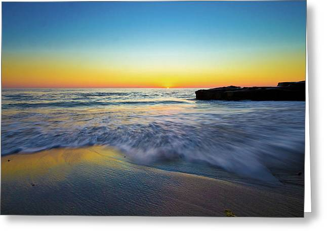 Greeting Card featuring the photograph Expanse 3 by Ryan Weddle