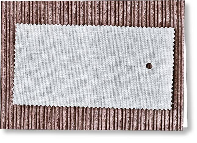 Fabric Swatch Greeting Card