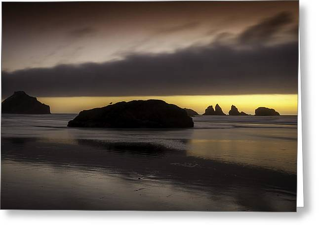 Face Rock Bandon By The Sea Greeting Card