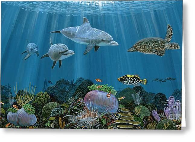 Fantasy Reef Re0020 Greeting Card
