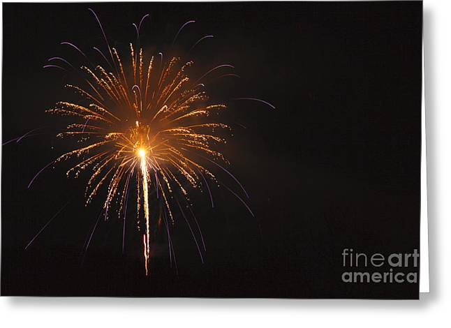 Fireworks - Lincoln New Hampshire Usa Greeting Card