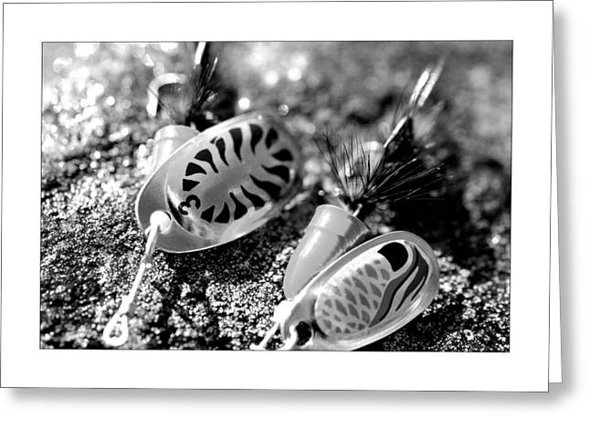 Fishing Lure Greeting Card