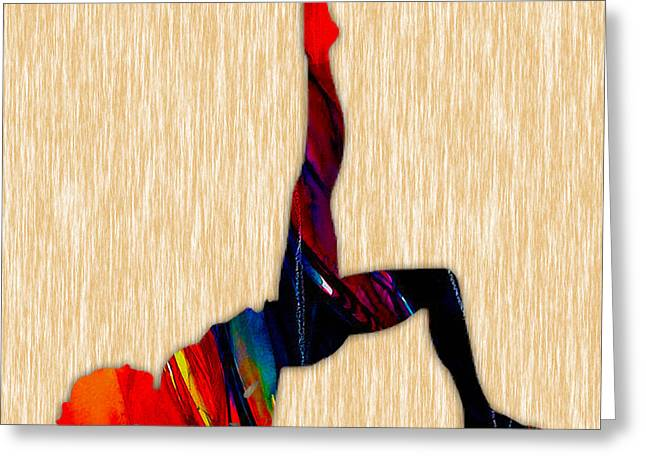 Fitness Greeting Card by Marvin Blaine