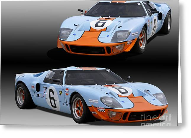 Ford Gt40 Race Car Photograph By Tad Gage