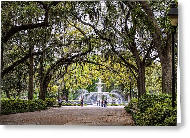 Forsythe Park Greeting Card