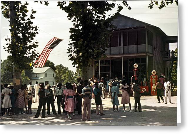 Fourth Of July, 1939 Greeting Card by Granger
