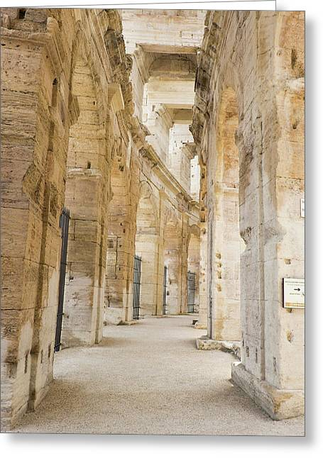 France, Arles, Roman Amphitheater Greeting Card