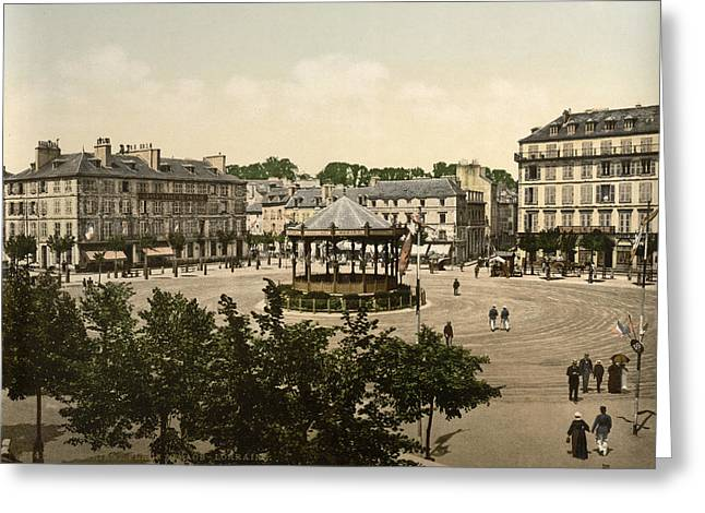 France Lorient, C1895 Greeting Card