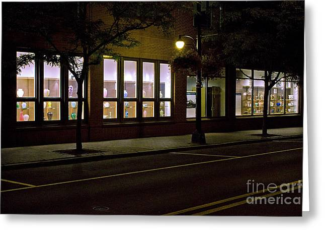 Frederick Carter Storefront 2 Greeting Card