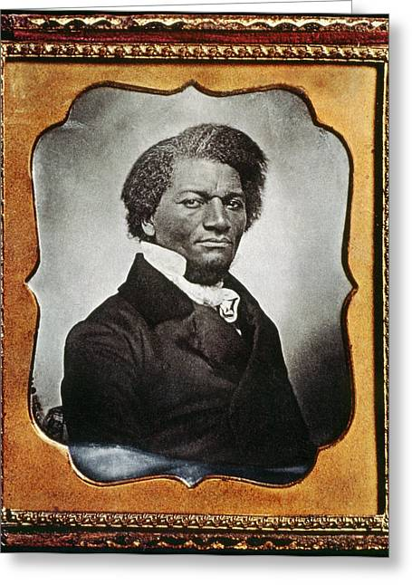 Frederick Douglass (c1817-1895) Greeting Card by Granger