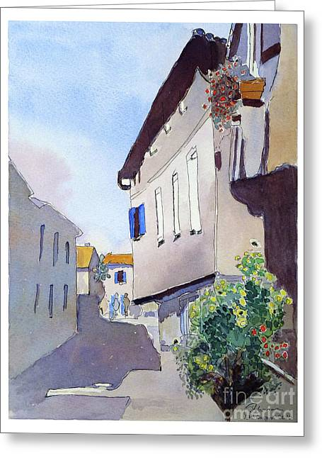 French Street Greeting Card